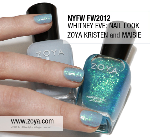 Whitney Eve Port Zoya Nail Polish Kristen & Maisie